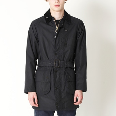 SOLWAY ZIPPER SL WAXED COTTON