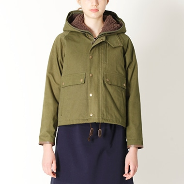 LADIES SPEY JKT WITH FUR LINER