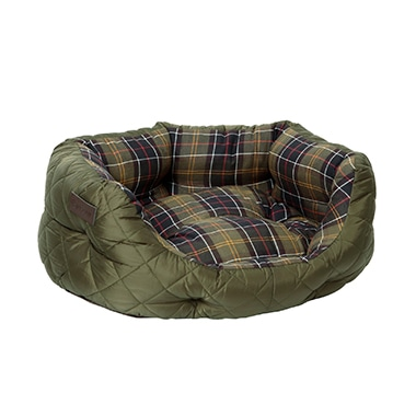 QUILTED DOG BED 24