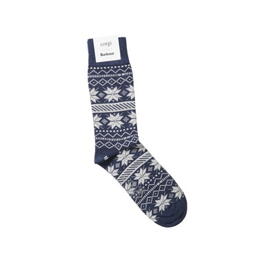 NYLON FAIRISLE SOCK