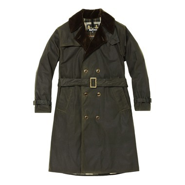 WHITLEY TRENCH COAT WAXED COTTON