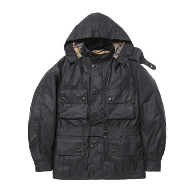 URSULA JACKET WAXED COTTON