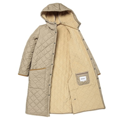 LADIES HOODED LIDDESDALE SL LONG WTHBOA