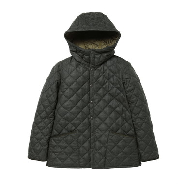 HOODED LIDDESDALE WOOL