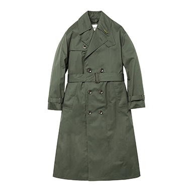 LADIES BIG WHITLEY TRENCH COAT C/N