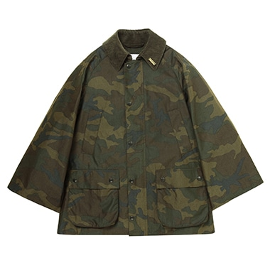 LADIES BIG BEDALE CAMO