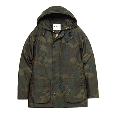 HOODED BEDALE SL CAMO