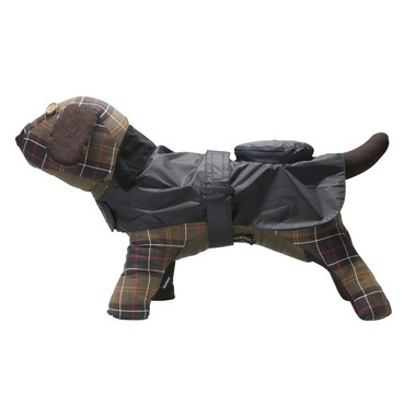 WATERPROOF PACK AWAY DOG COAT