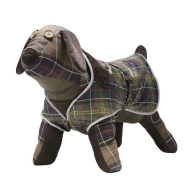 W/PROOF TARTAN DOG COAT