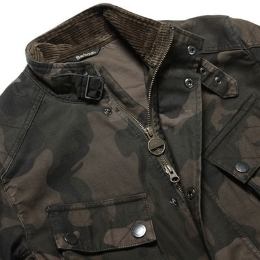 B.INTL WASHED CAMO CASUAL