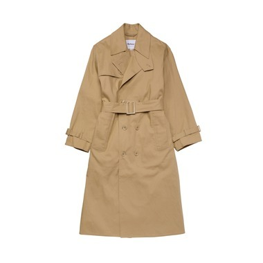 LADIES BIG WHITLEY TRENCH COAT LINEN