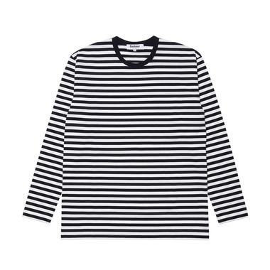 BORDER LONG T-SHIRT