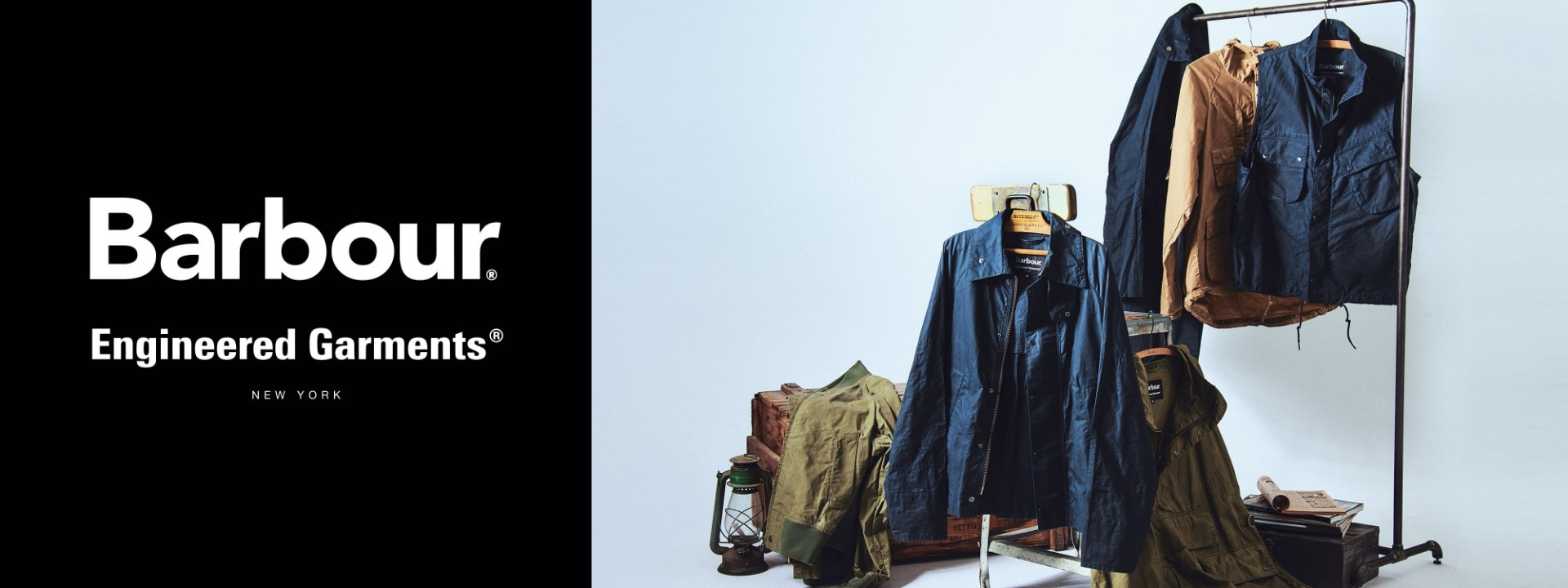 Barbour×Engineered Garments 19 spring-summer