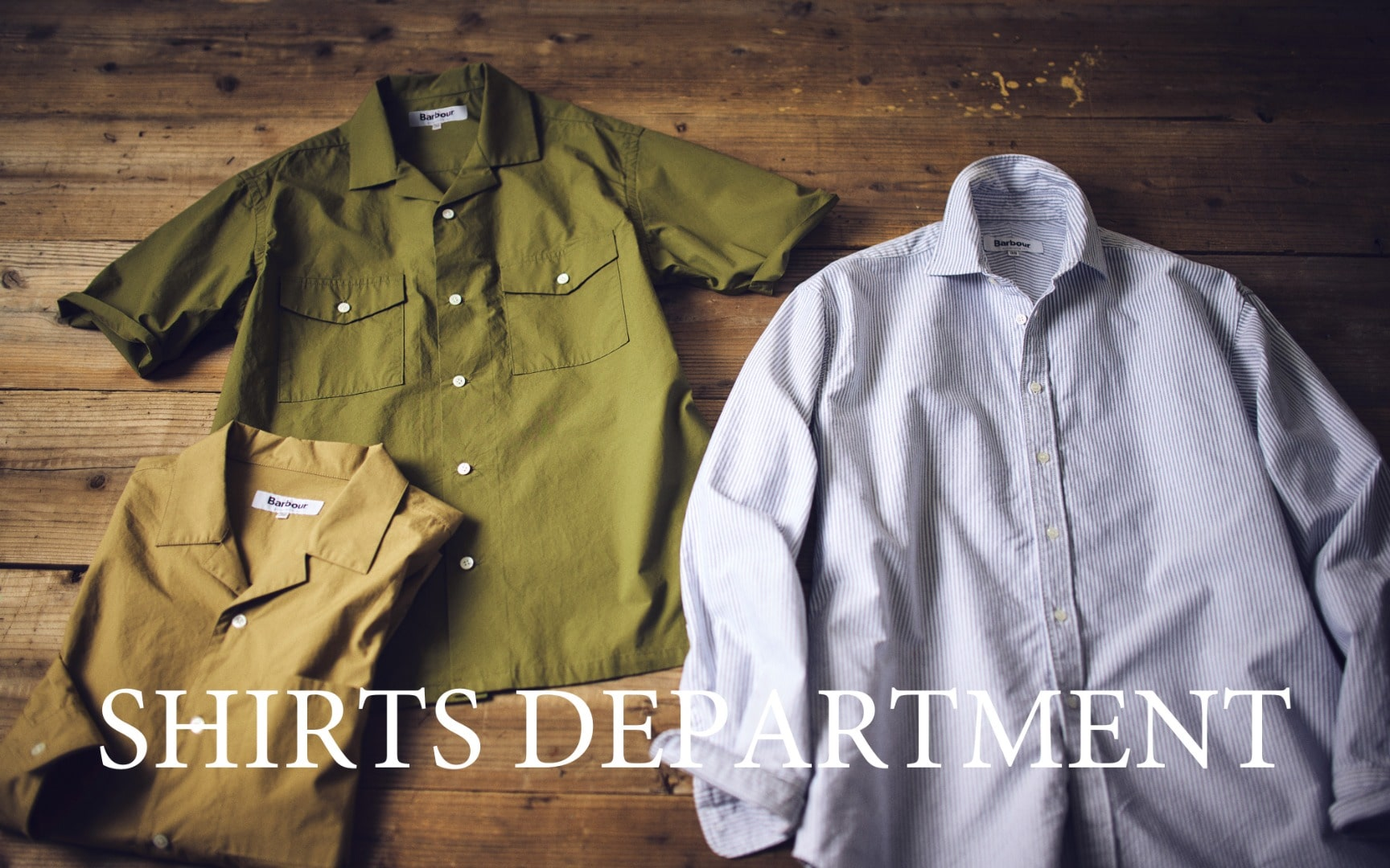 SHIRTS DEPARTMENT