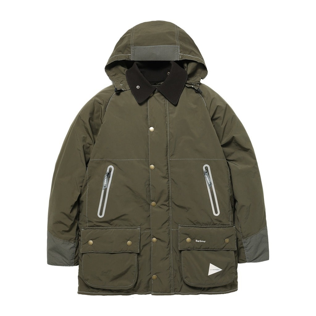 【and wander】BARBOUR RIP JACKET