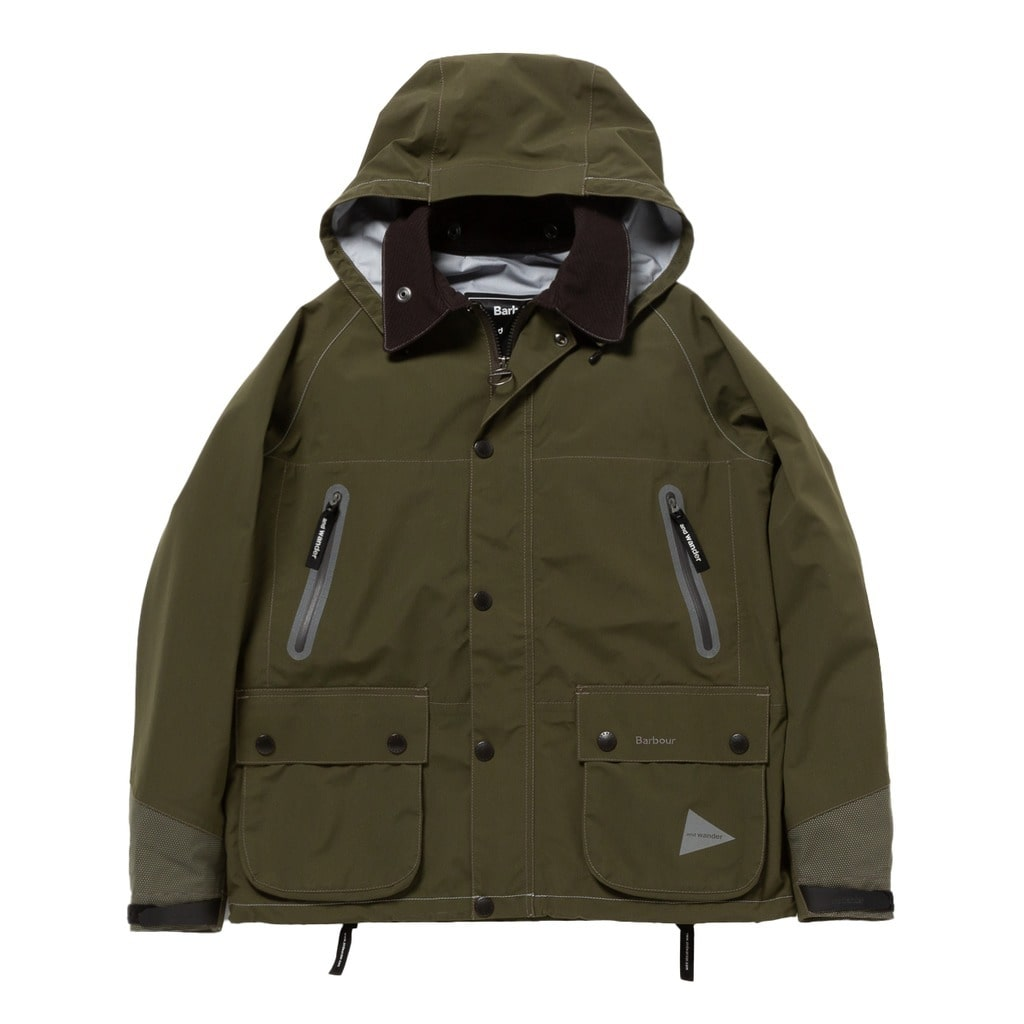 【and wander】CORDURA E VENT JACKET