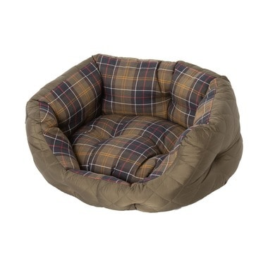 QUILTED DOG BED 24IN