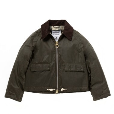 【Barbour by  ALEXACHUNG】LADIES MARGOT WAX