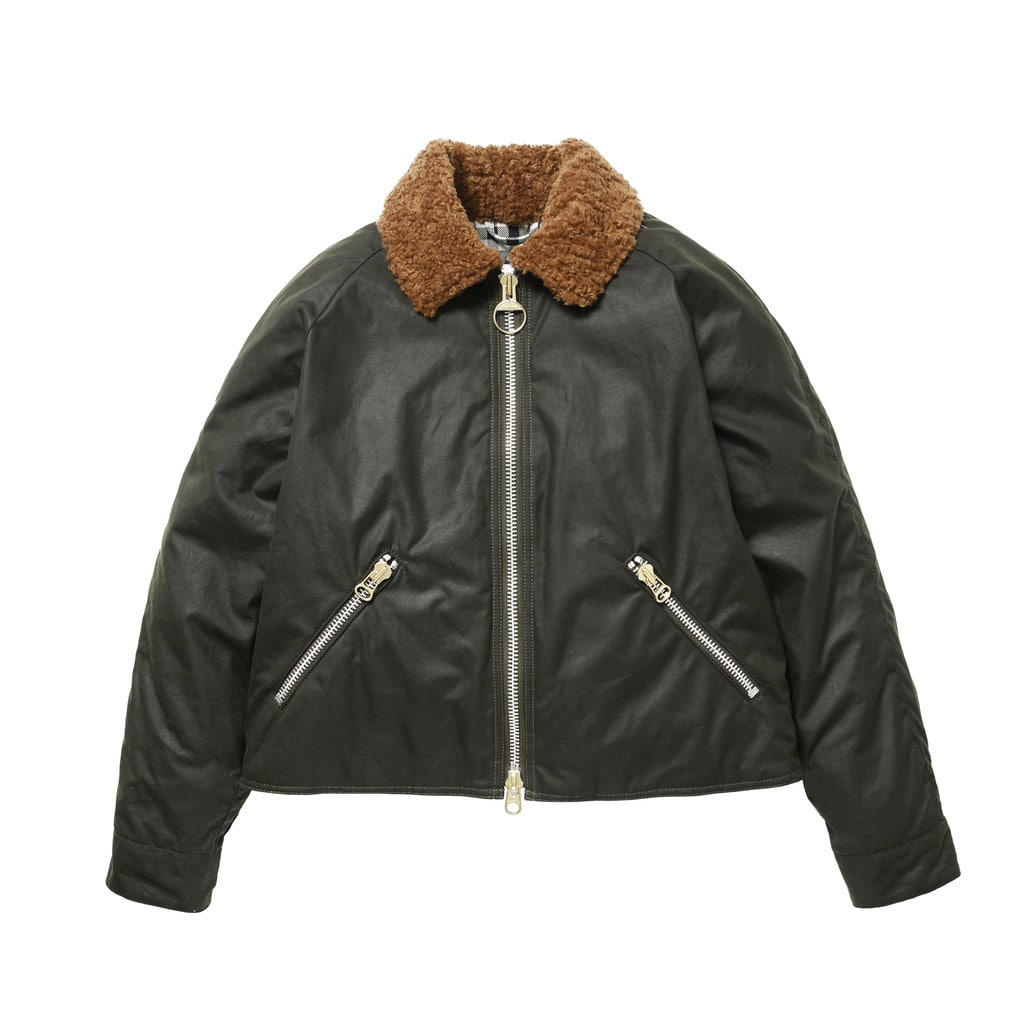 【Barbour by ALEXACHUNG】FLOYD WAX