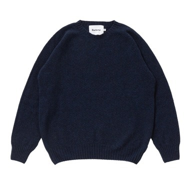 HARLEY CREW NECK SWEATER 100%LAMBSWOOL