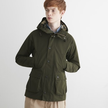 HOODED BEDALE SL 2LAYER