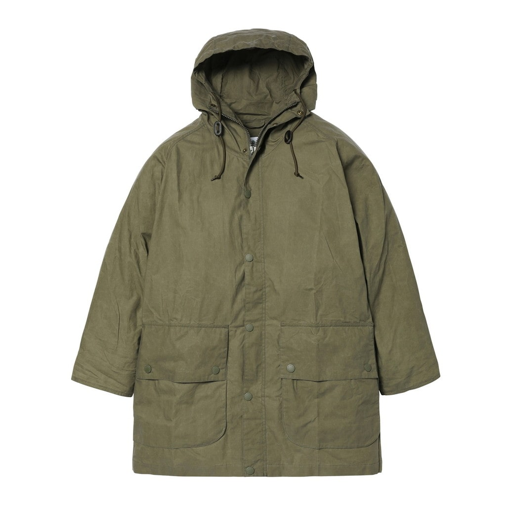 OVERSIZE HOODED BEDALE CASUAL