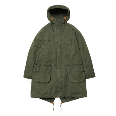 【Engineered Garments】WASHED HIGHLAND PARKA