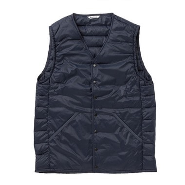 COLLARLESS BAFFLE GILET