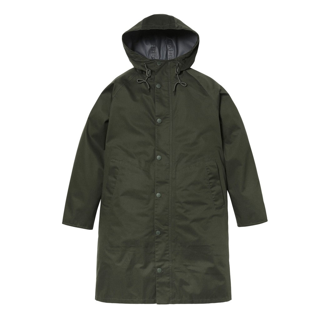 HOODED HUNTING JACKET