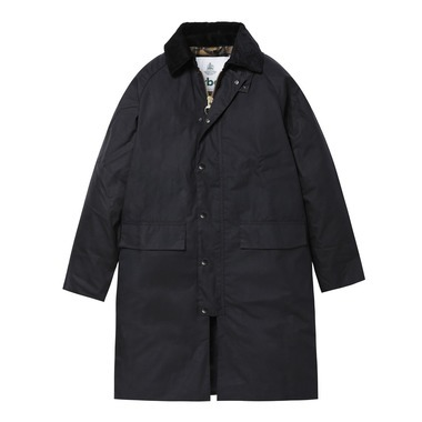 NEW BURGHLEY JACKET WAXED COTTON