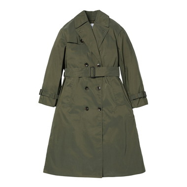 LADIES BIG WHITLEY TRENCH COAT CHAMBRAY