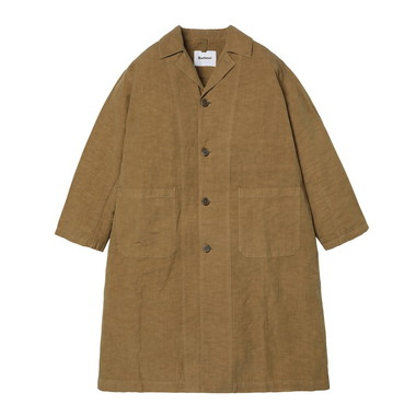 LADIES OVER DYED DUSTER COAT