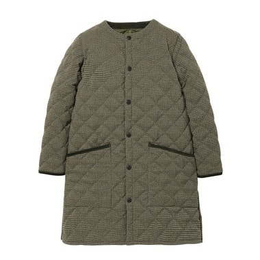 LADIES NO COLLAR LIDDESDALE WOOL CHECK