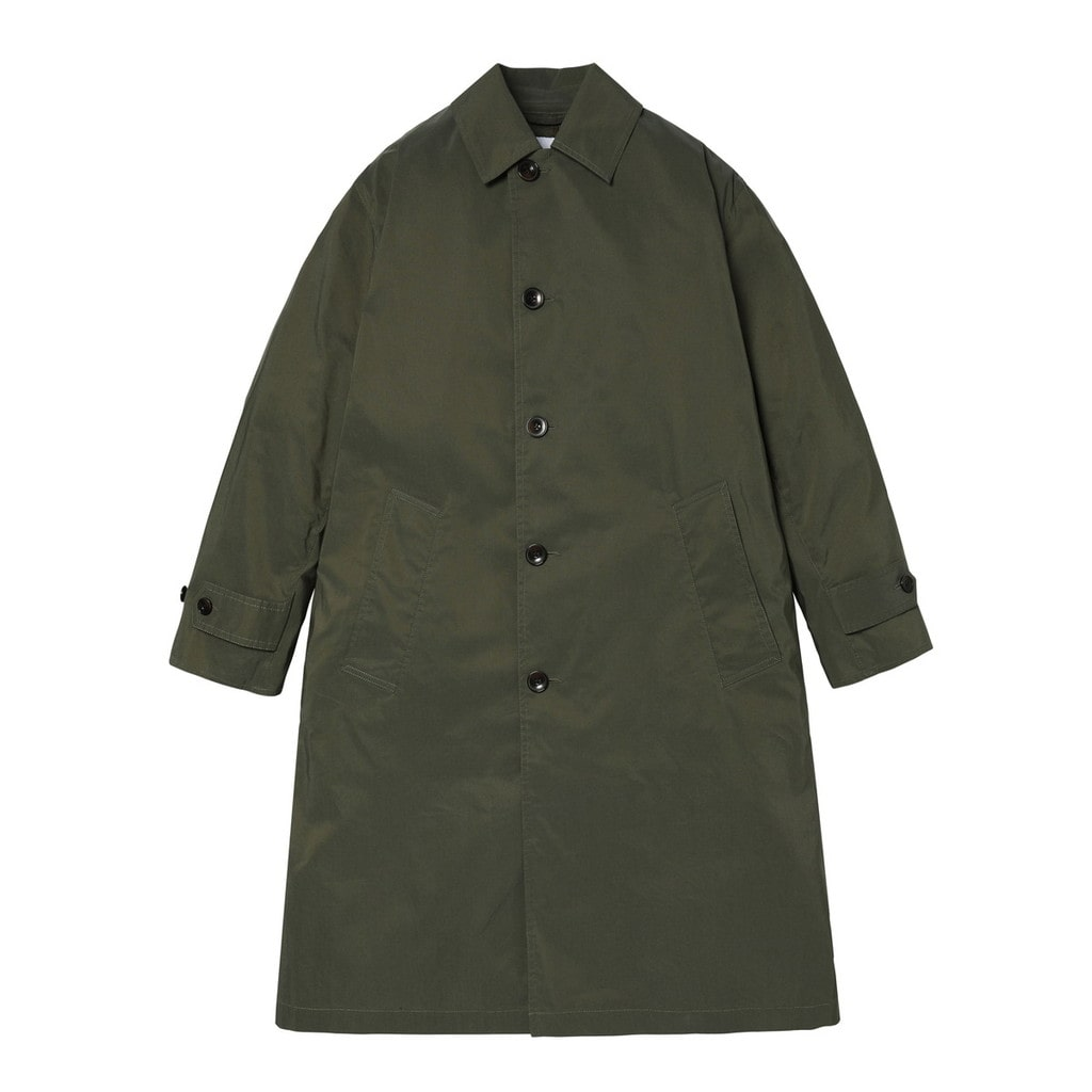 BALMACAAN COAT C/N CHAMBRAY