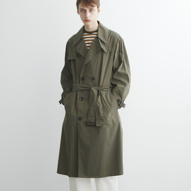 BIG WHITLEY TRENCH COAT CHAMBRAY