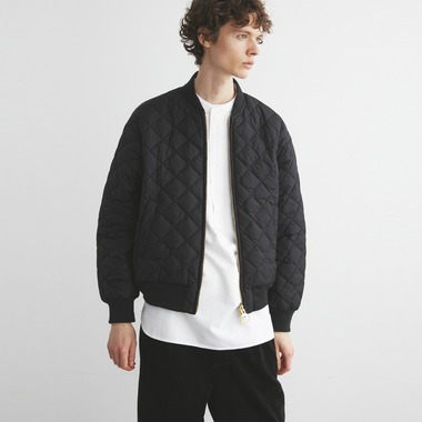 QUILTED BOMBER JACKET OS NYLON