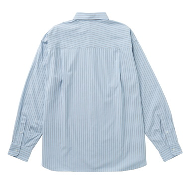 L/S OVERSIZED STRIPE SHIRT