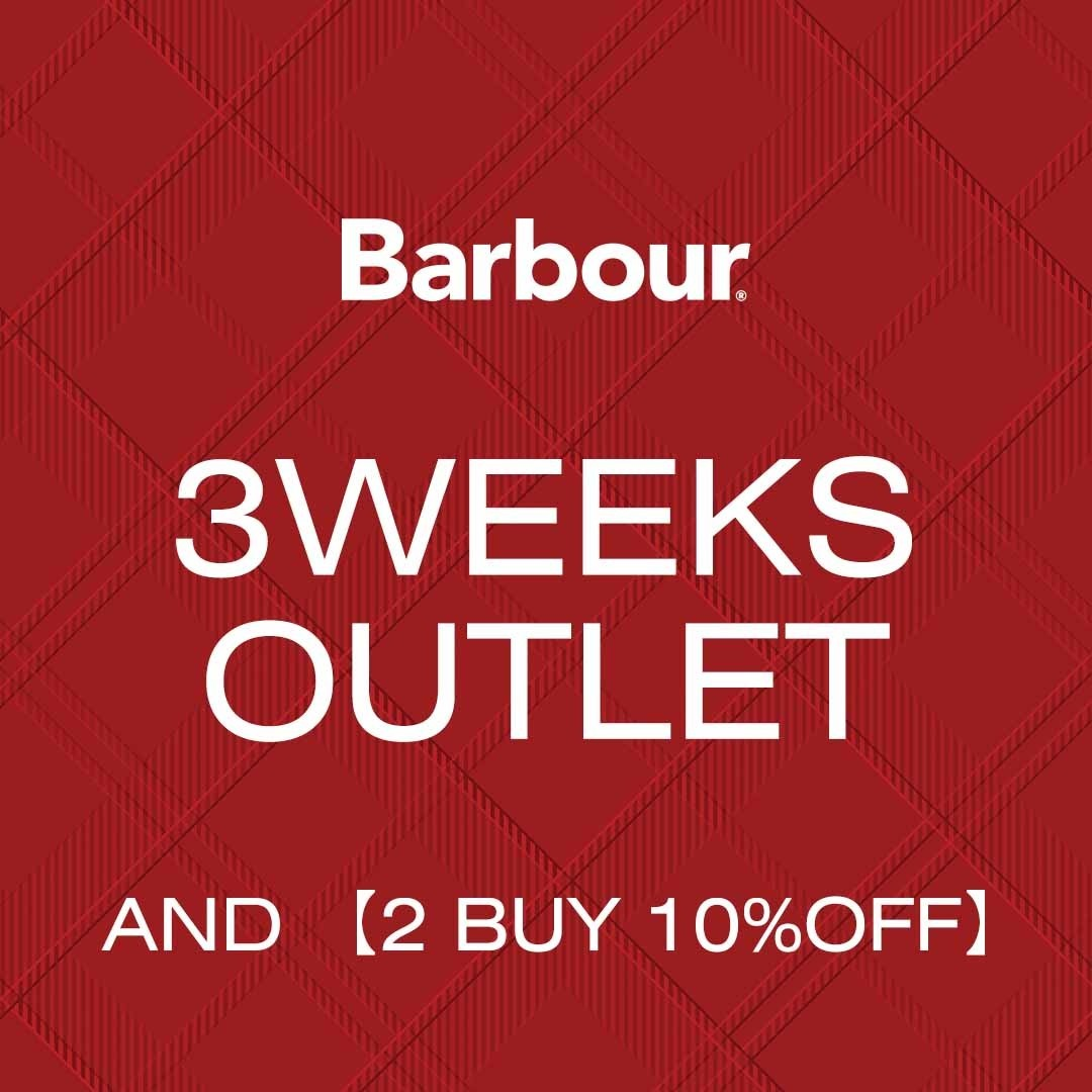 『3 WEEKS OUTLET & 2BUY 10%OFF』