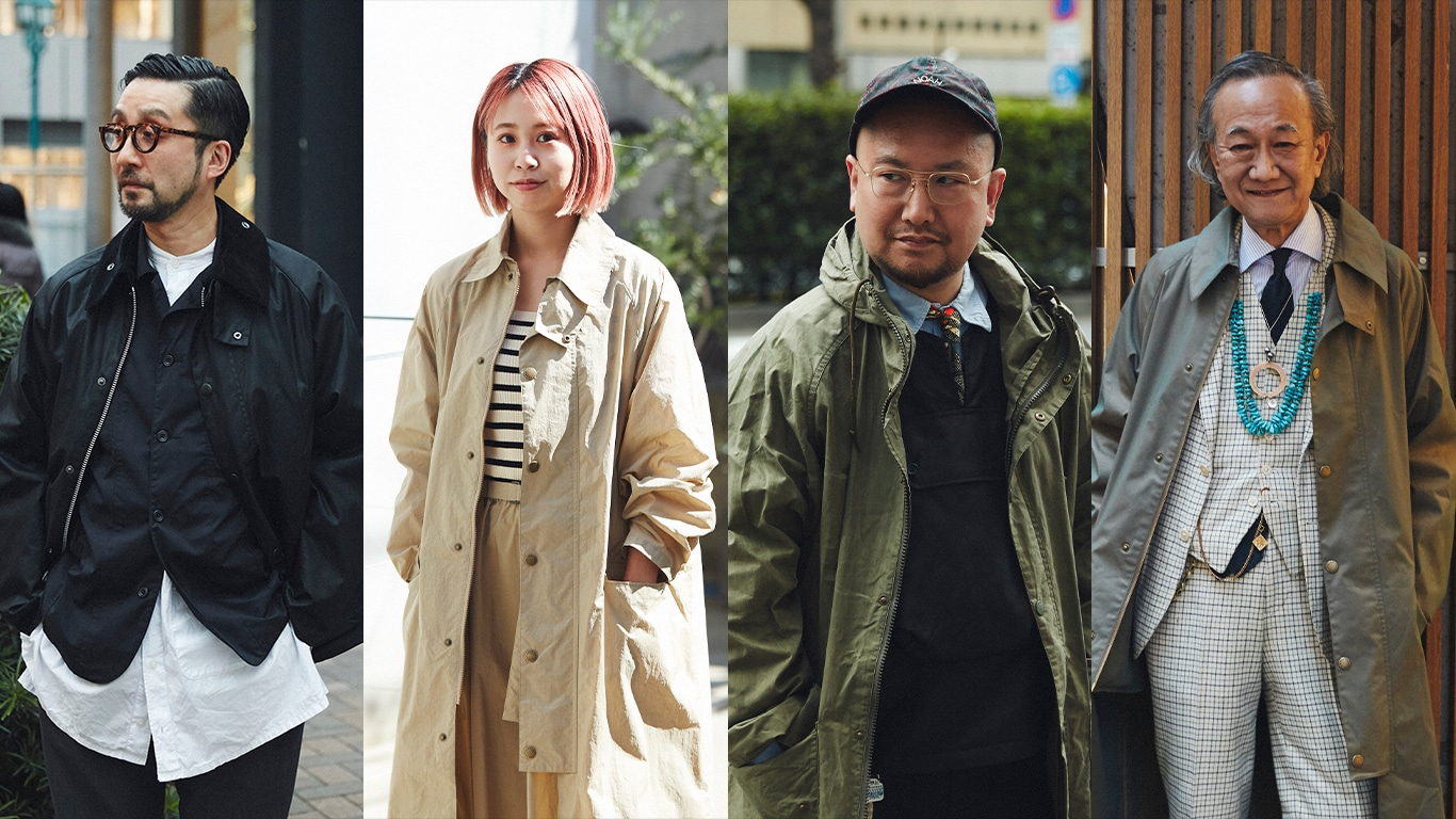 BARBOUR PEOPLE SPECIAL 個性が引き立つレイヤードスタイル